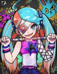 Ninjala Game-Fanart - Cherryherby