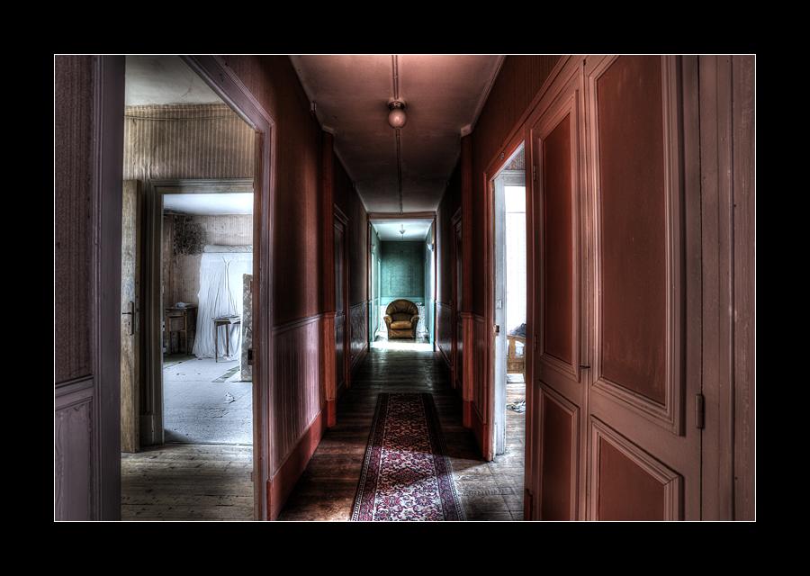 Hotel Hallway by 2510620