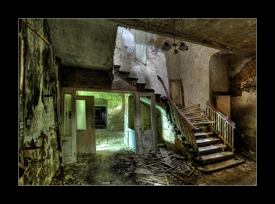Sanatorium Stairs 2 by 2510620