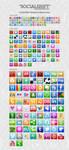SocialShift Social icon set by emey87