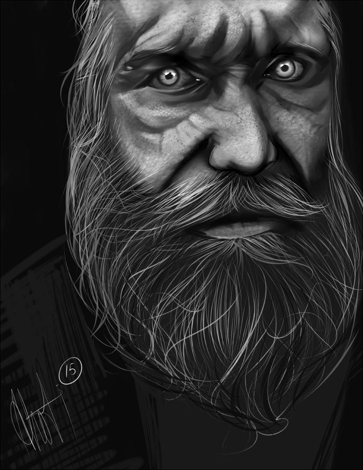 Portrait Practice by MrKelzack