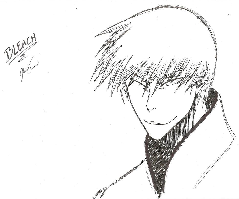 Ichimaru Gin Sketch by Tridyrium