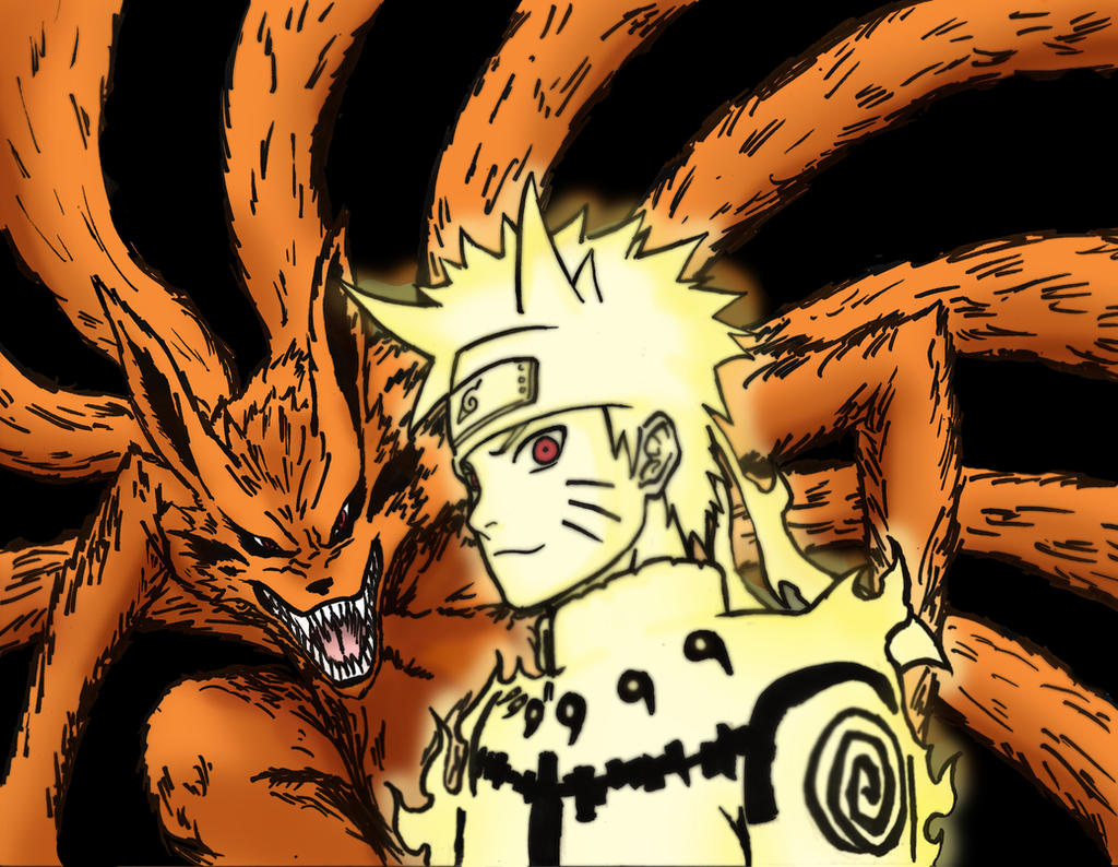 Naruto Kyuubi Chakra Mode by TridyriumNaruto Kyuubi Chakra Mode