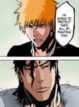 Bleach 475. Ichigo vs Ginjou