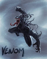 Venom fan art by avnkoan