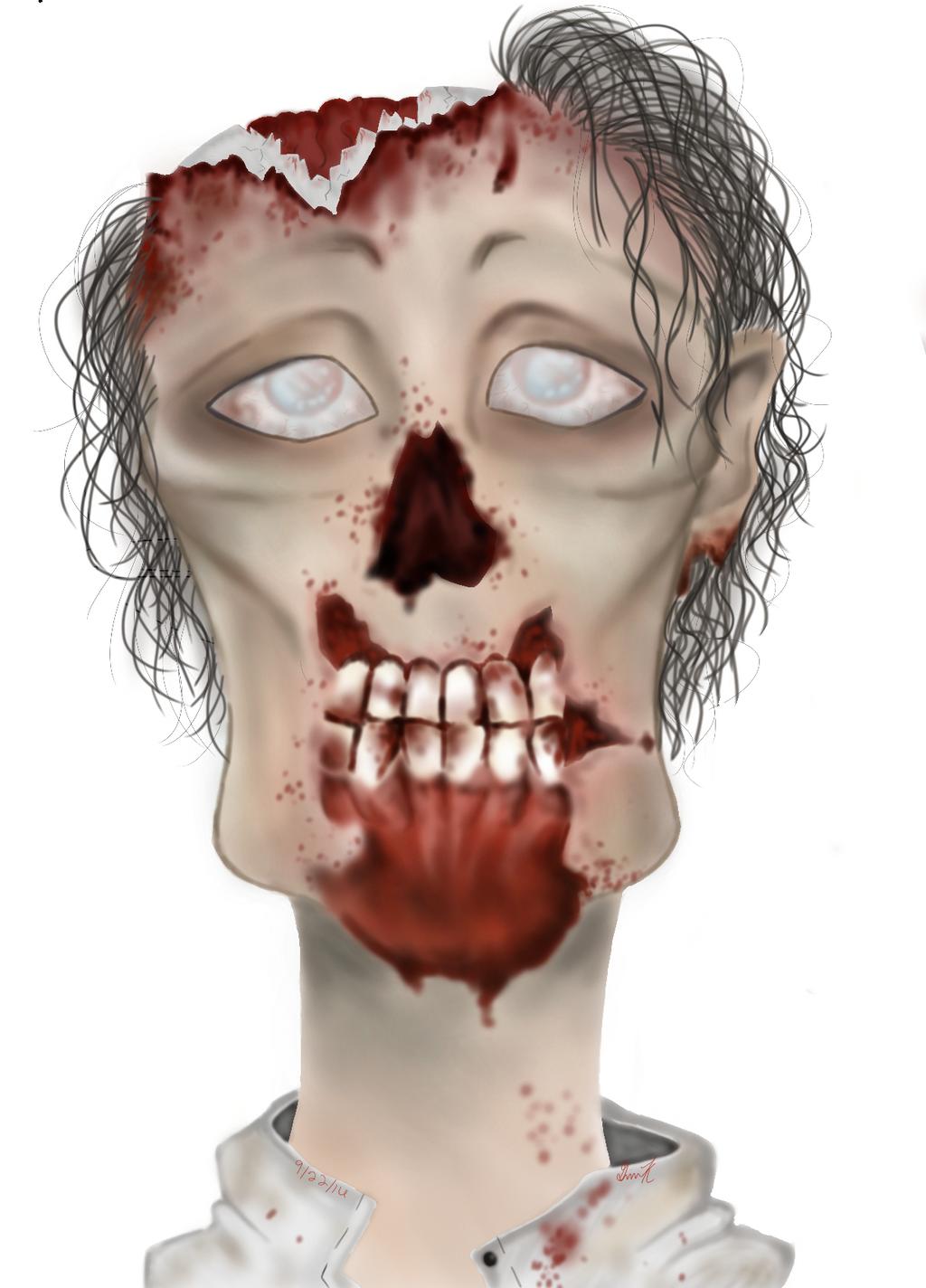 Zombie man by J-Walkerz