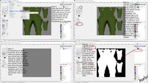 Custom Clothing Texture Tutorial Part 2