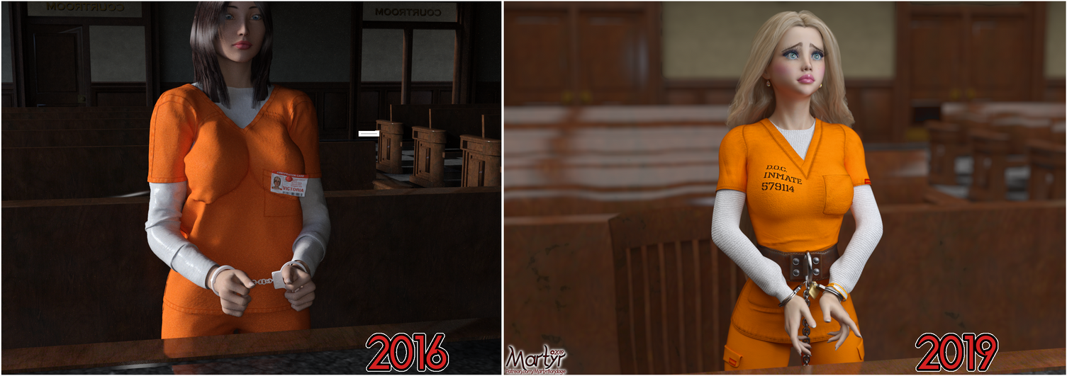 3 Years, Before and After by MartyMartyr1