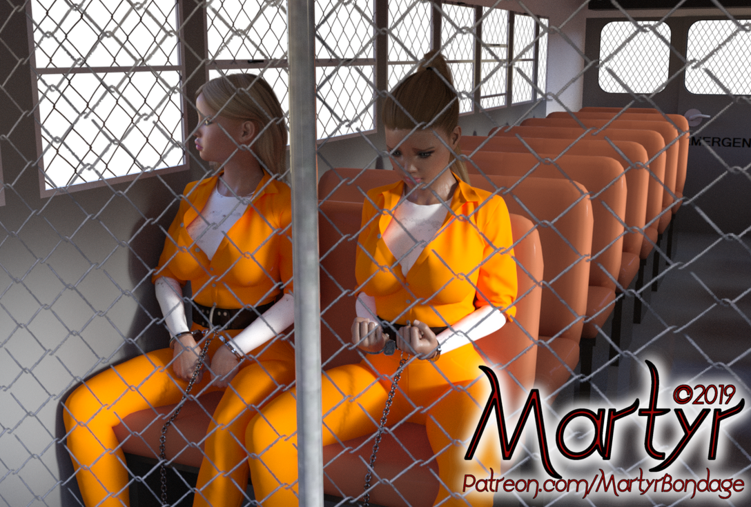 Locked Up Abroad - Prison Transport Bus by MartyMartyr1