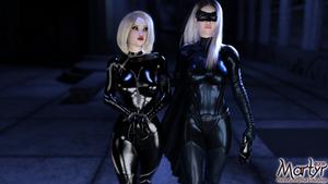 Bat/Caturday - Captured Cat