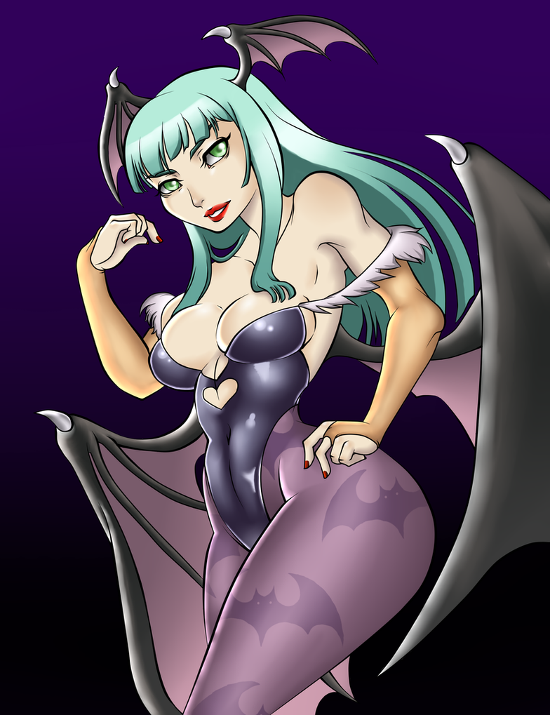 Morrigan by xXVSilverPhoenixVXx