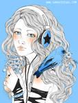 Blue spring by evilshara