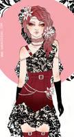 Pink flower fashion