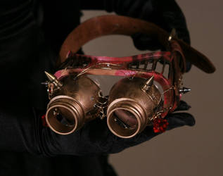 Fire Goggles by WiCaMa