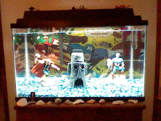 New fish tank by kisshu01 on deviantart for Fish tank camera