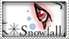 --Snowfall Stamp-- by Akante