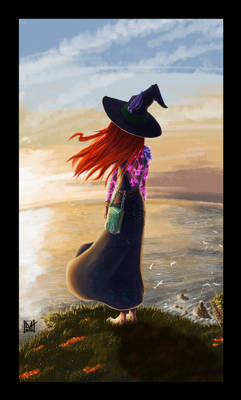 Witch on the cliff