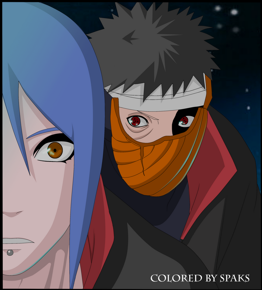 Konan Vs Tobi by spaks48 on DeviantArt
