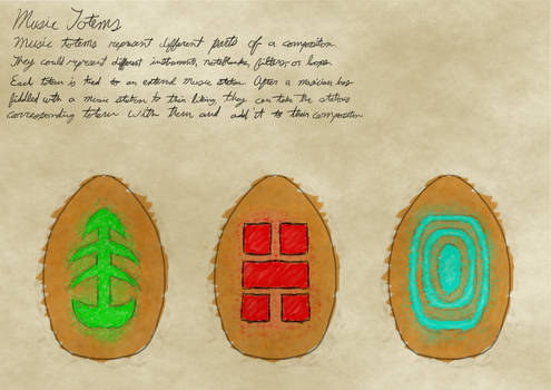 Totem Concept Art 1