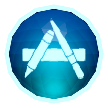 Low-poly App Store Icon by BenWurth