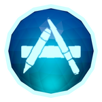 Low-poly App Store Icon