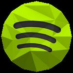 Low-poly Spotify Icon