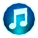 Low-poly iTunes Icon