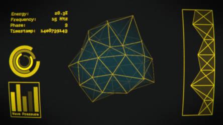 Sci-fi UI by BenWurth