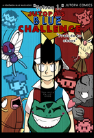 Jutopa's Blue Challenge Vol 1. Cover Page by Jutopa