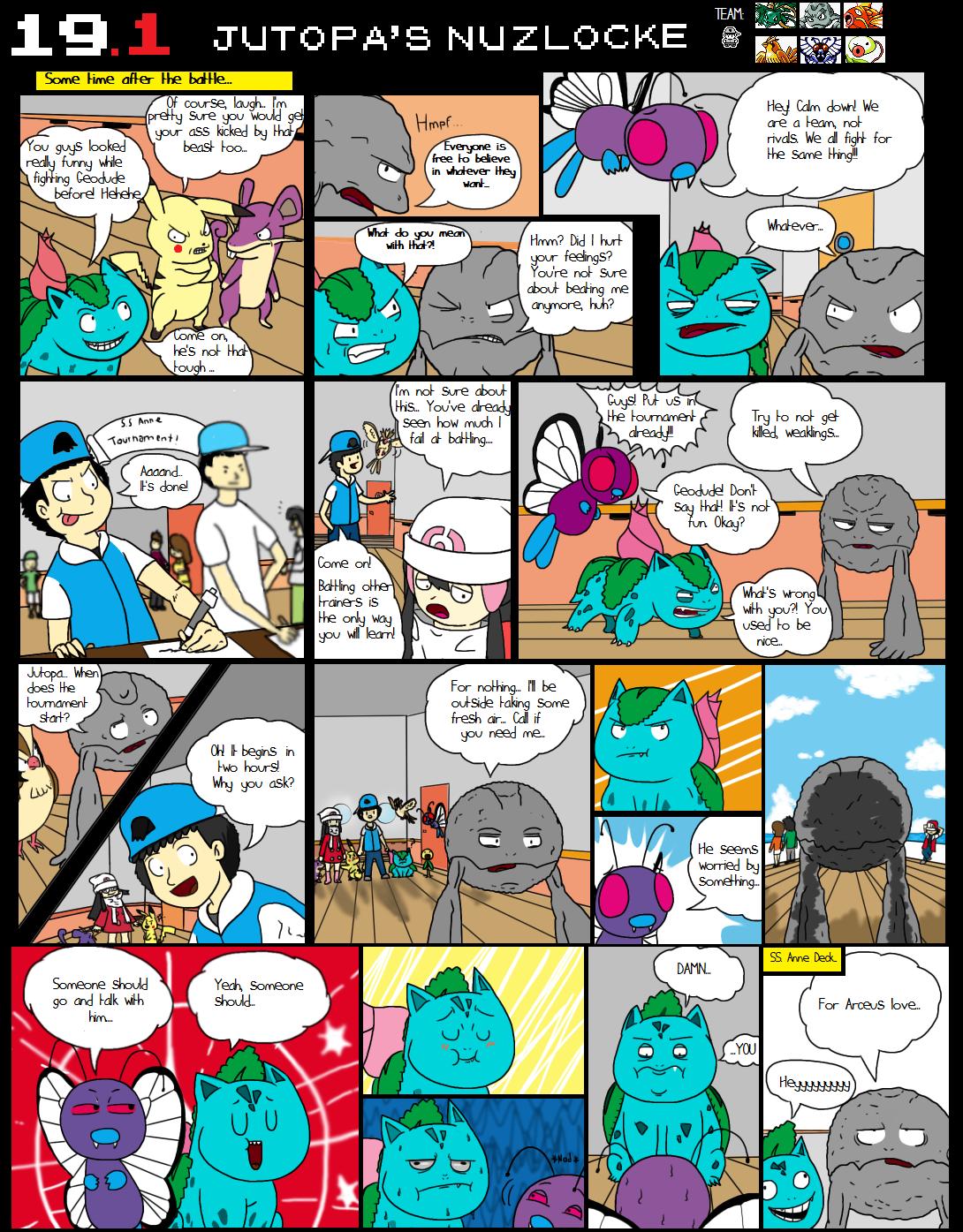 Nuzlocke comics