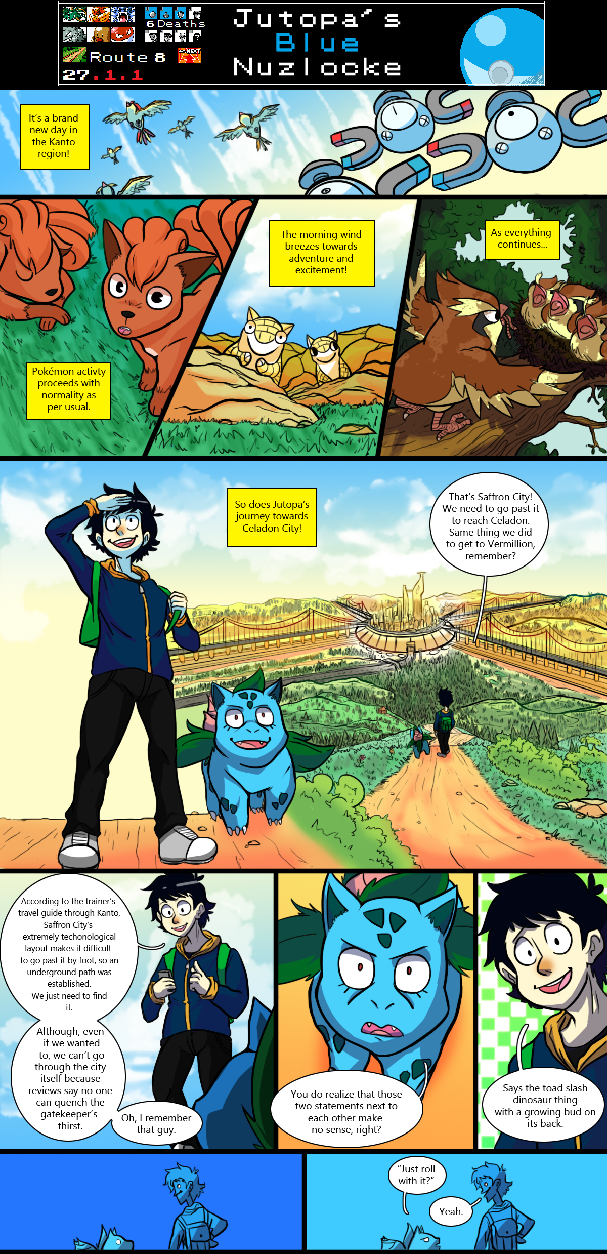 Jutopa's Blue Nuzlocke Chapter 27 - Page 1.1 by Jutopa