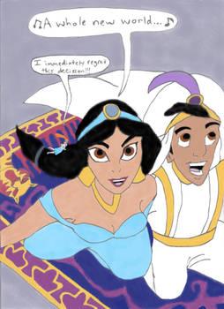 Jasmine and Thumbelina