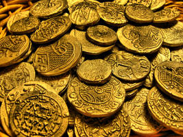 Several Different Coins from Viking Age.