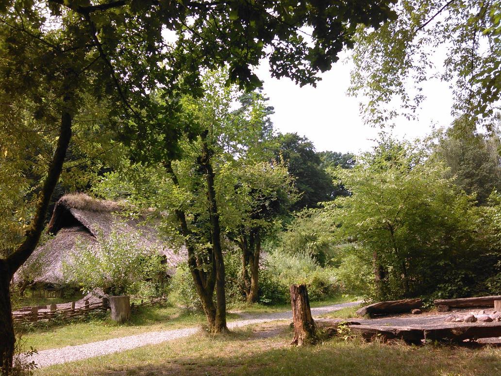 Bronze Age longhouse by Heidenwerk