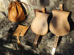 Several Types of  Early Middle Ages Bags by Heidenwerk