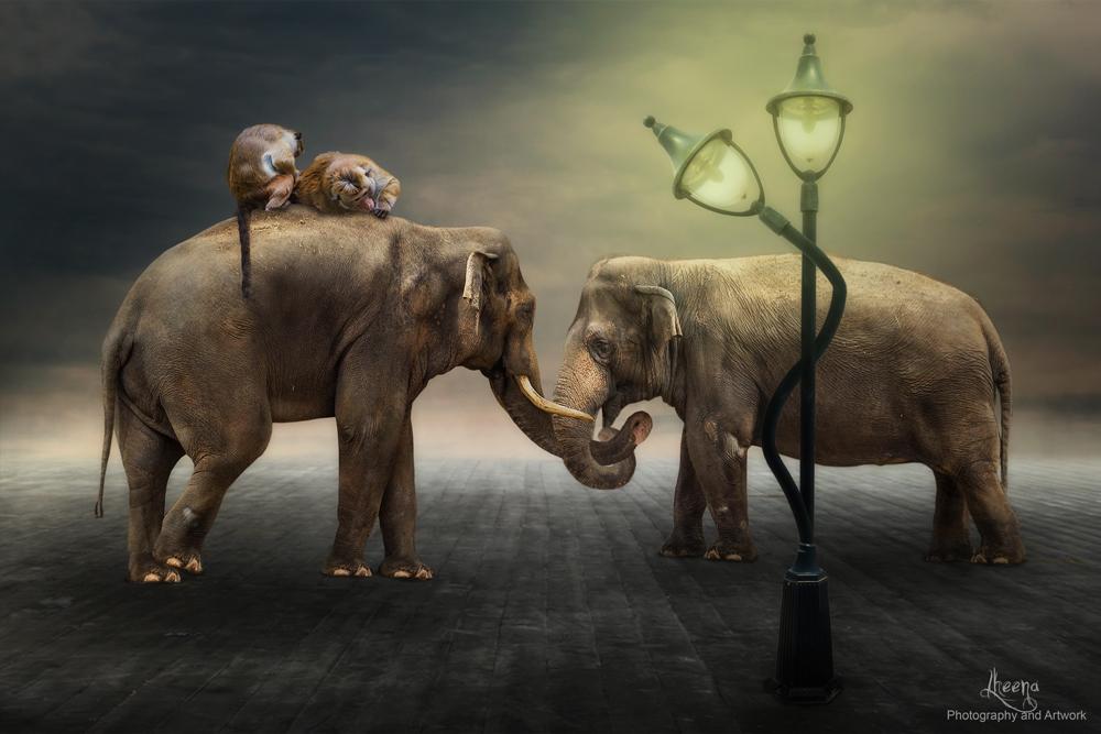 Love is in the air... by LheenasArtwork