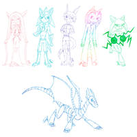 AT: Diaminerre's Characters