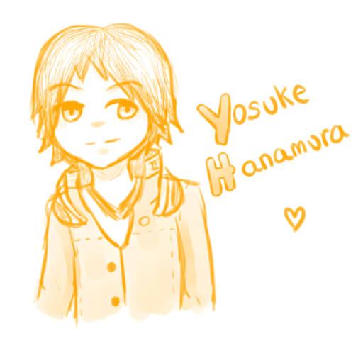 Yosuke doodle by TheAwesomeHero7714