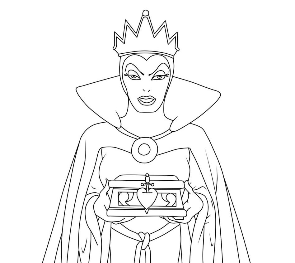 Coloring pages queen