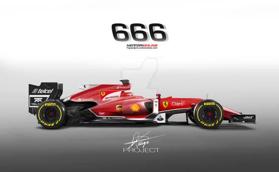 Formula1 2015 | Ferrari 666