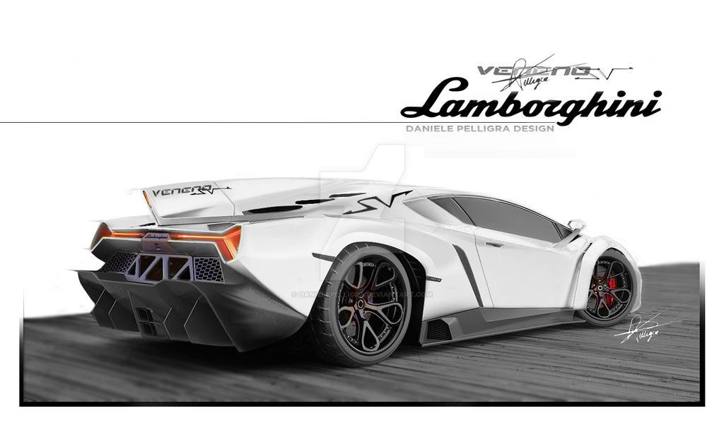 Lamborghini Venenosv Concept Design By Danielepelligra