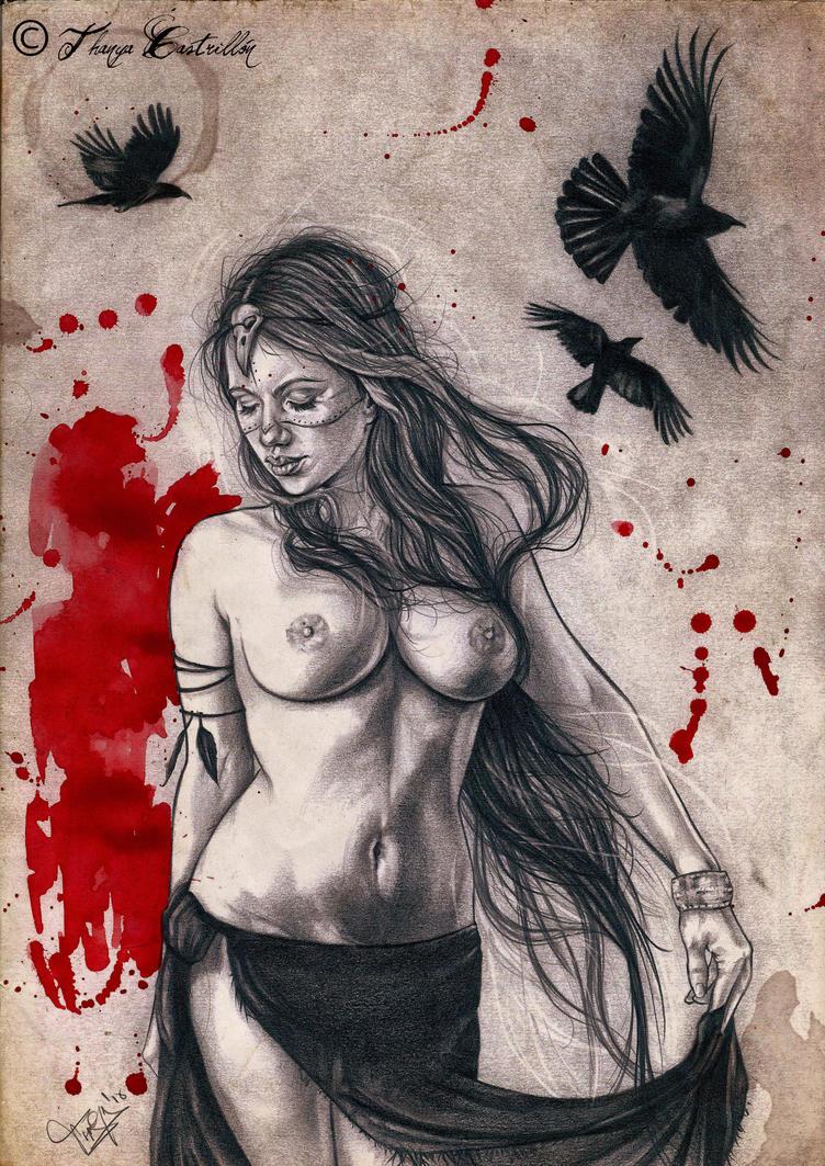 Morrigan by Heteferes
