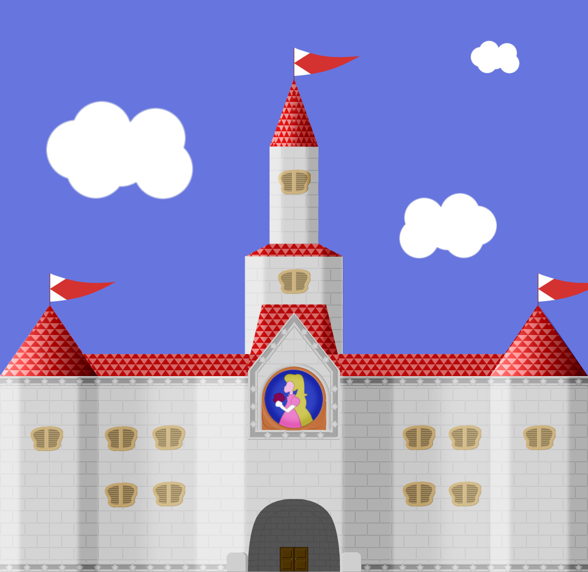 Princess Peach S Castle By Insanity Prevails On Deviantart