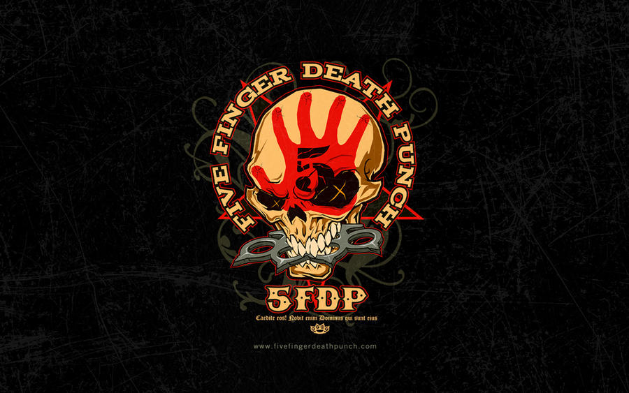 gallery for five finger death punch skull logo wallpaper