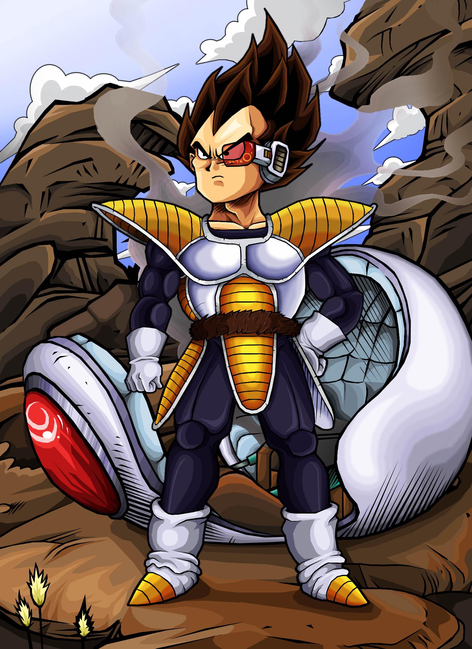 Dragon ball z rajada de guerreiros poderosos saga saiajin for Portefeuille dragon ball z