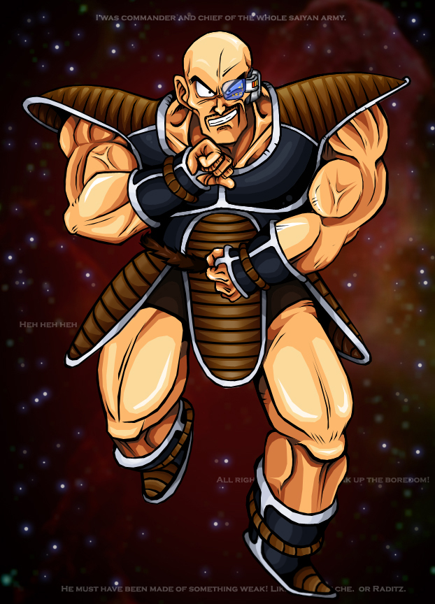 Dragonball Z - Nappa by TimothyJamesF