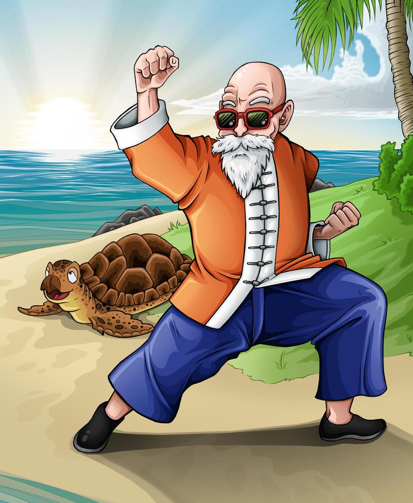 Dragon Ball - Master Roshi by TimothyJamesF