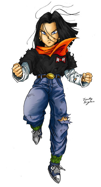 Dragon Ball Android 17