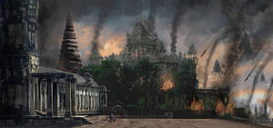 Matte painting Fred B