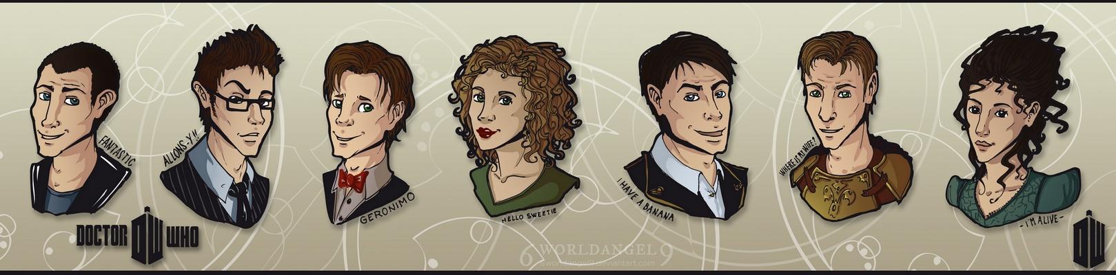 Doctor Who by 6worldangel9